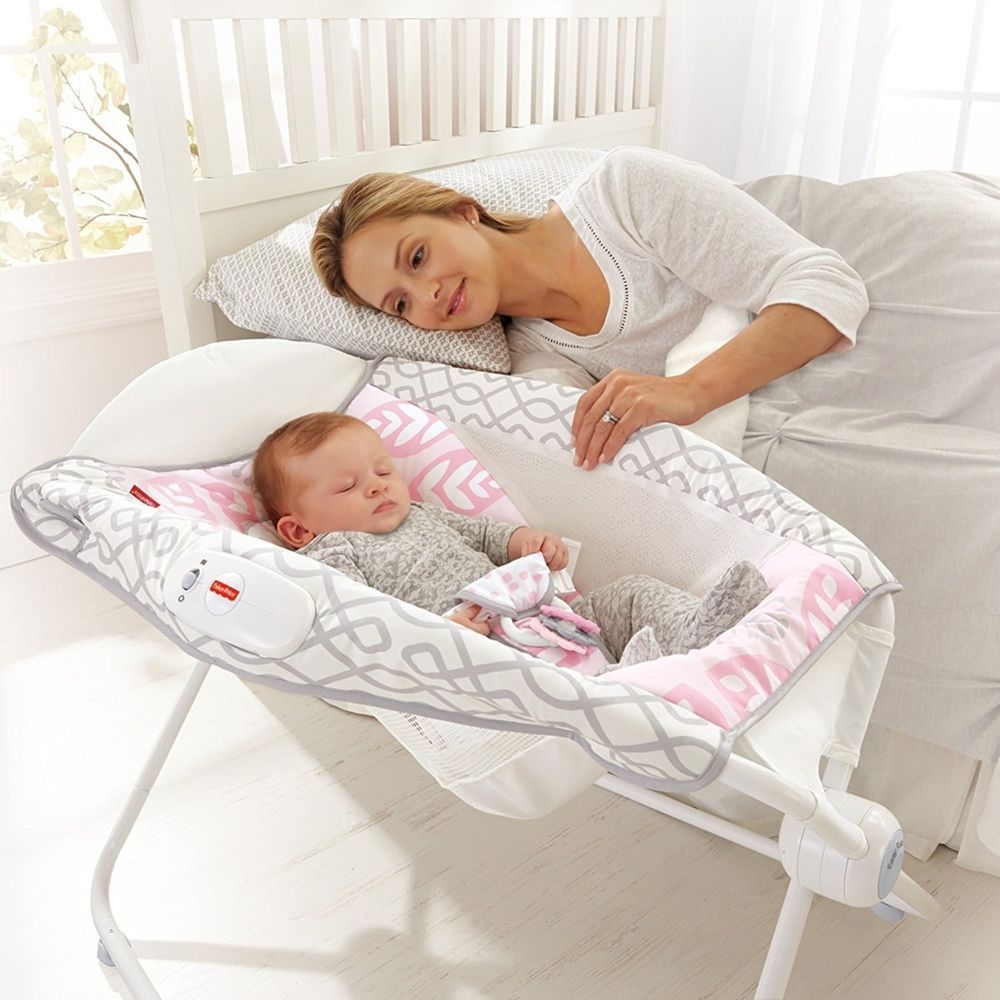 Baby Rocking Sleeper Newborn Bassinet Cradle Crub Nursery Bed