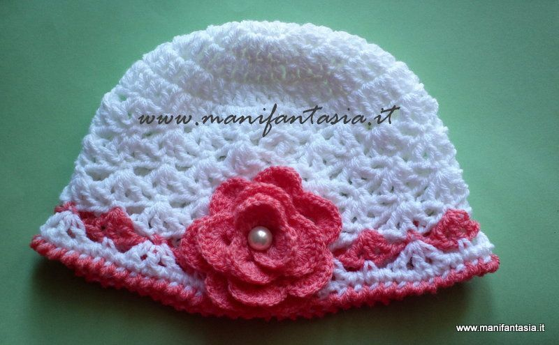 Come Fare Un Cappellino Uncinetto Per Bimba Tutorial Knitting