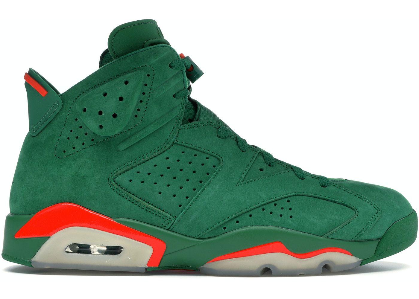 Jordan 6 Retro Gatorade Green in 2020