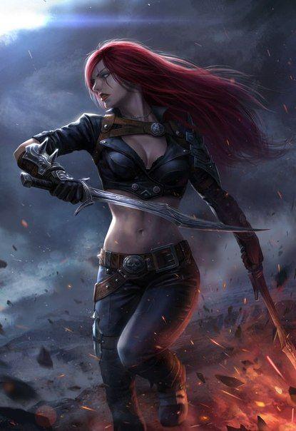 League Of Legends Katarina Art