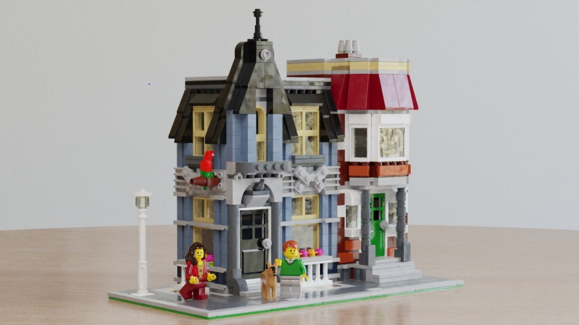 Instructions 10218 Creator Neu ! LEGO® BA Bauanleitung