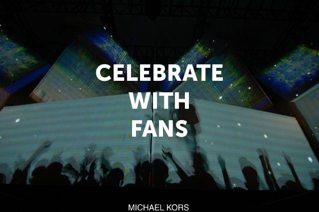 #CelebrateWith Michael Kors this holiday season.