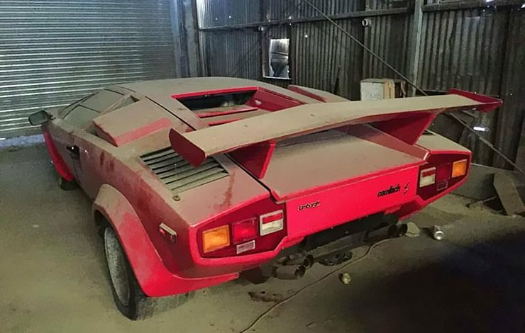 Barn Find Of The Year Abandoned Lamborghinis Ferrari Porsche In California Abandoned Cars Barn Find Cars Lamborghini Countach