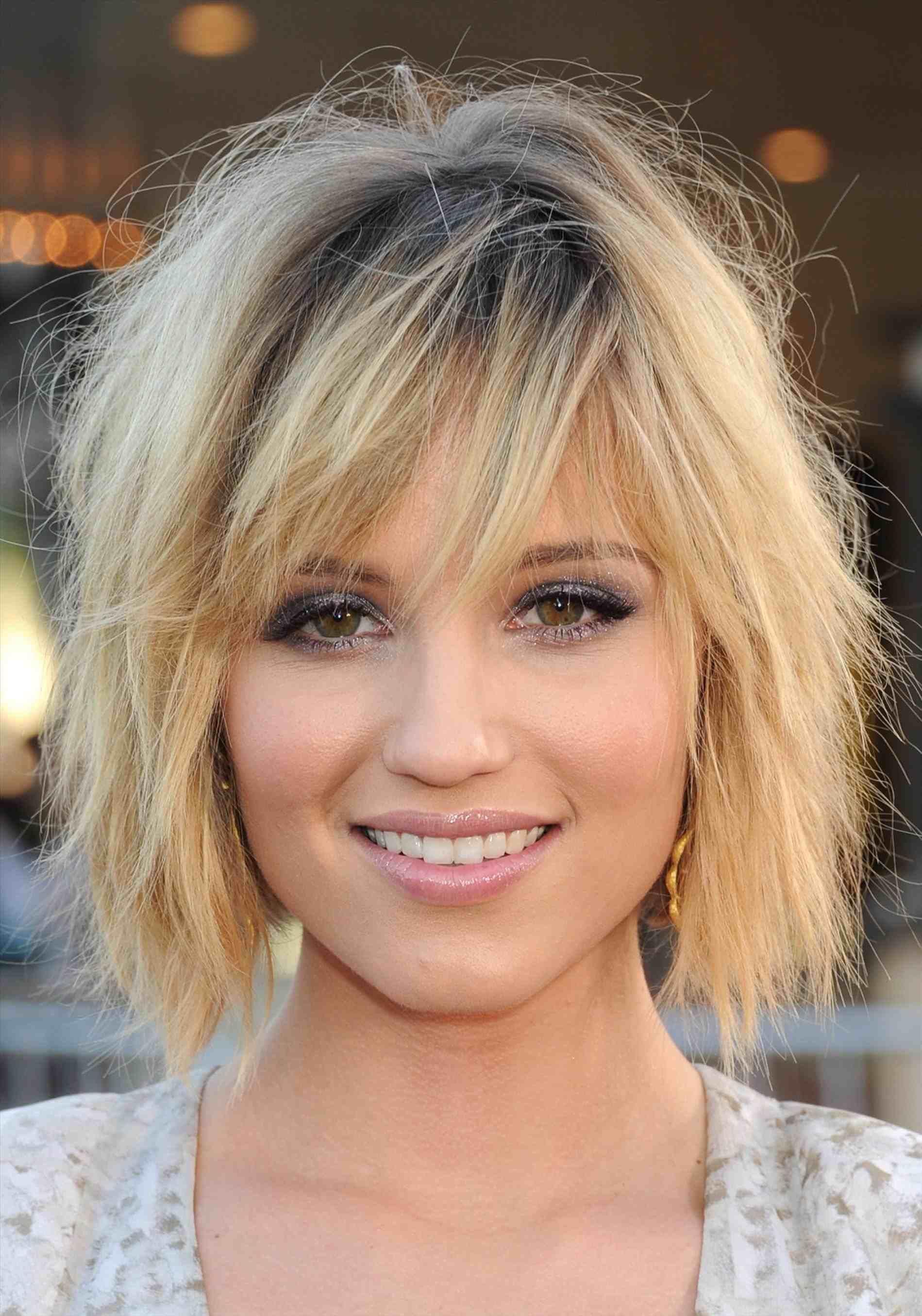 Superb #Medium Bilder Von Mittlerer Länge Frisuren Für Dickes Haar #Bilder #von  #mittlerer