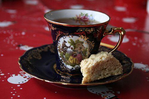 tea and sweetgoods