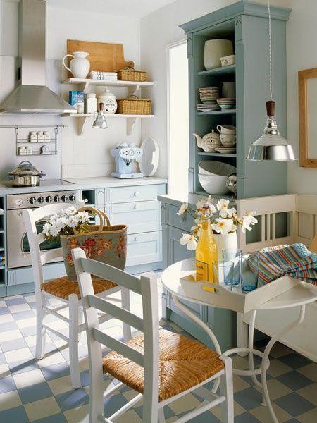 Küche im Landhausstil Landhausküchen Pinterest Kitchens - inspirationen küchen im landhausstil