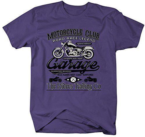 Men S Motorcycle Club T Shirt Vintage Biker Tee Vintage Biker