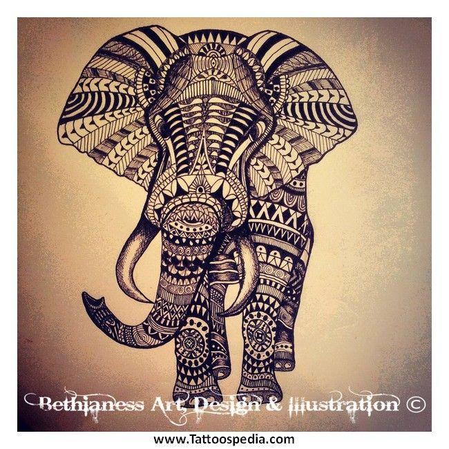 Aztec 20elephant 20tattoos 201 Aztec Elephant Tattoos 1 Elephant Tattoo Tribal Elephant Tattoos Giraffe Tattoos