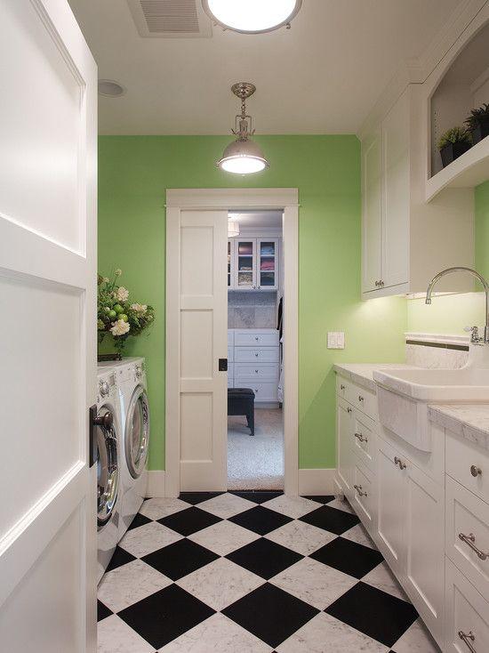 Lavanderia armarios empotrados cuarto de servicio lavadero for Lavadero empotrado