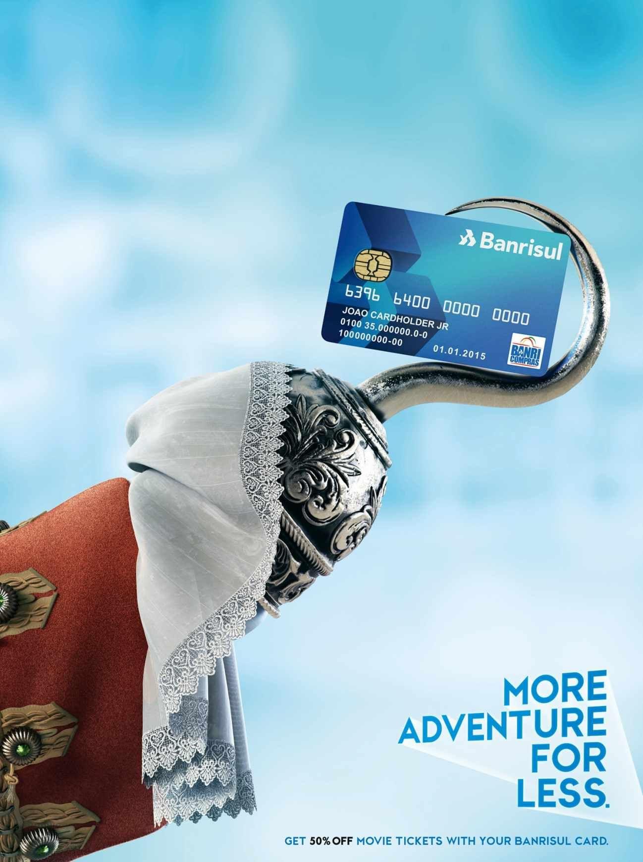 Banrisul Credit Card: Adventure | #advertising | Cards ...