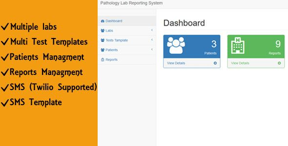 Pathology Lab Reporting System  Pathology Lab reports system can