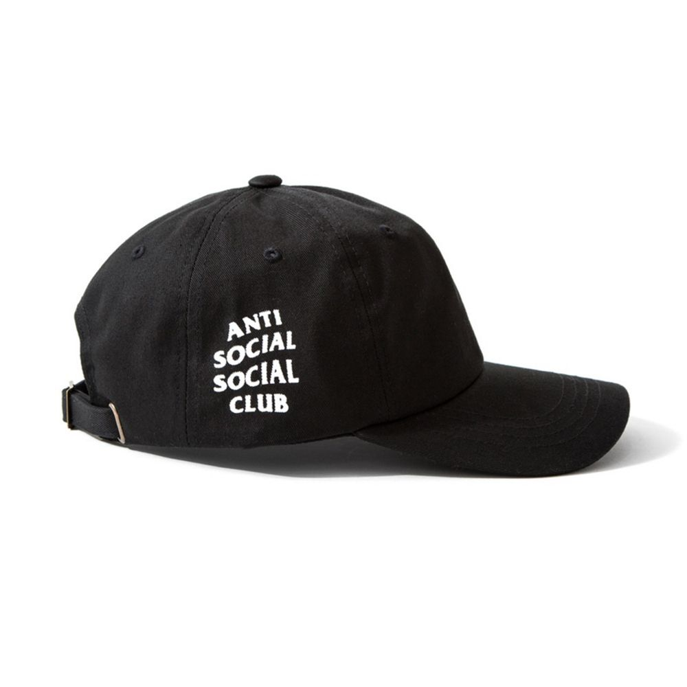 02da566555c19 ANTI SOCIAL SOCIAL CLUB BASEBALL CAP IN BLACK sold by soldrelax. Shop more  products from soldrelax on Storenvy