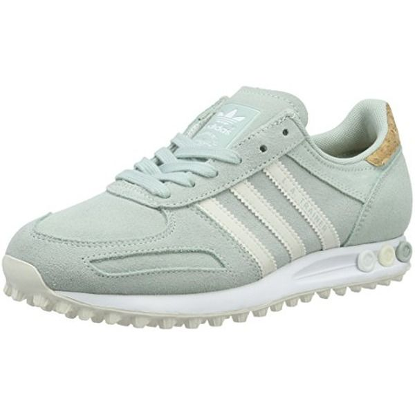 adidas Damen La Trainer Sneakers, Grün (Vapour Green F16/Off ...