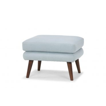 Tate Style 091 Light Blue Ottoman Ottoman Blue Ottoman Foot Rest