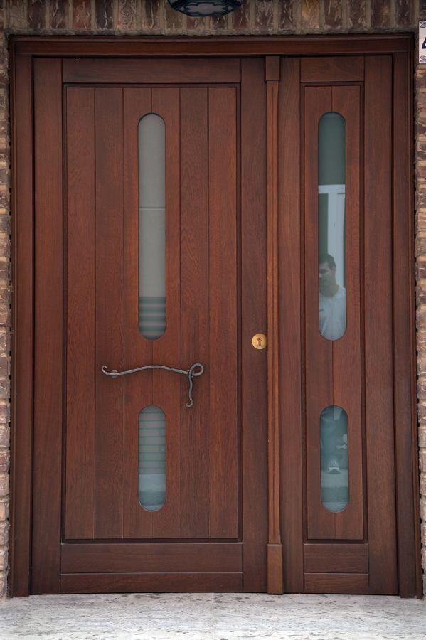 Puertas corredizas de aluminio vista exterior de puertas for Puertas de madera modernas para exterior