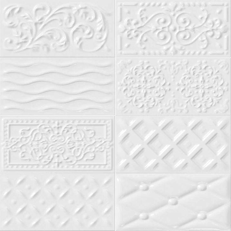 Exceptionnel Carrelage Blanc Relief 12 Carrelage Design Mural