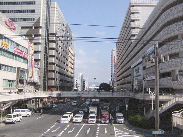 阿倍野歩道橋(2004年10月)