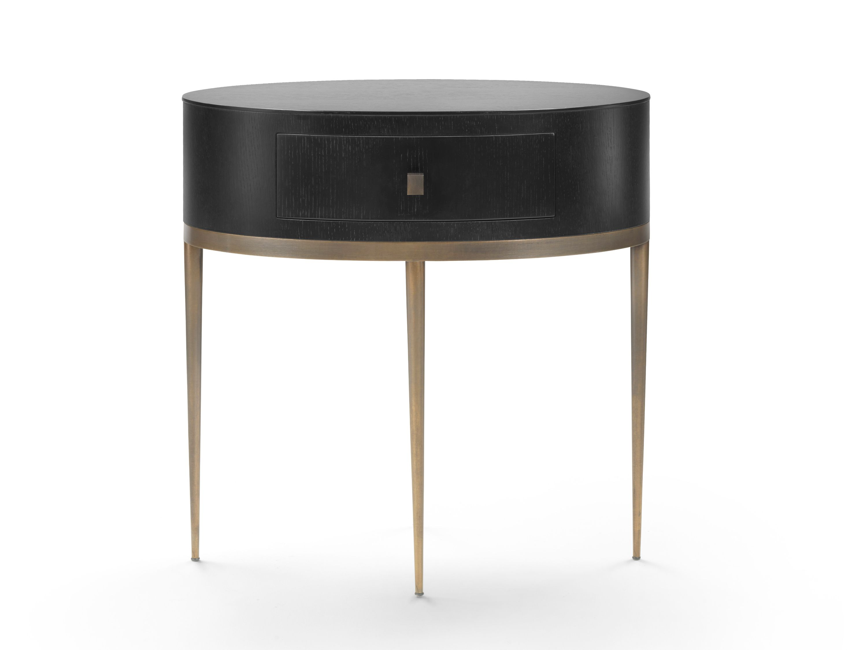 Oval Bedside Table Romy Mood By Flexform