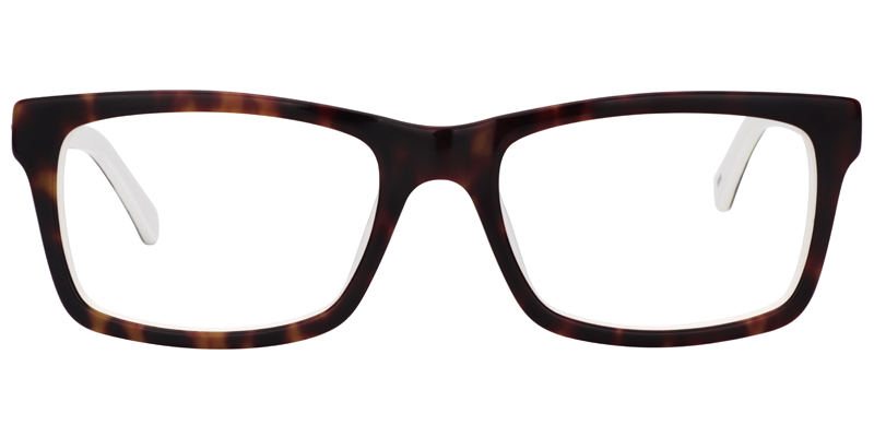 38ebc8c02e5 Zeelool Unisex Eyeglasses Kenneth Rectangle Gold-Tortoise Glasses 0617-01  Eyeglasses