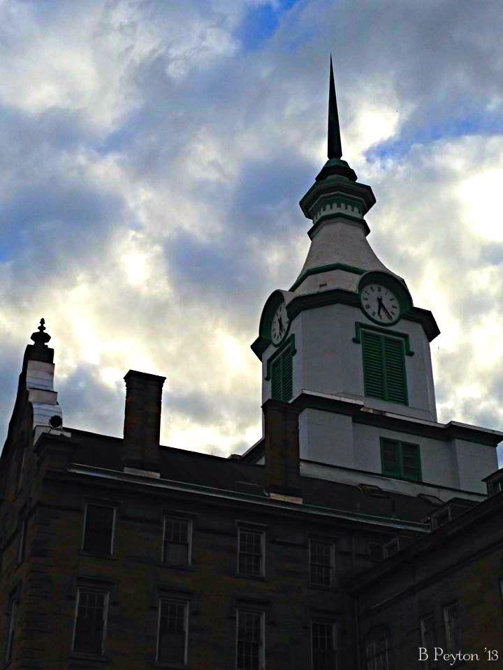 Clock Tower At Trans Allegheny Lunatic Asylum Weston Wv My