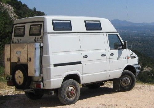 camper 4x4 iveco daily 40 10 carros cars pinterest 4x4 4x4 van and motorhome. Black Bedroom Furniture Sets. Home Design Ideas