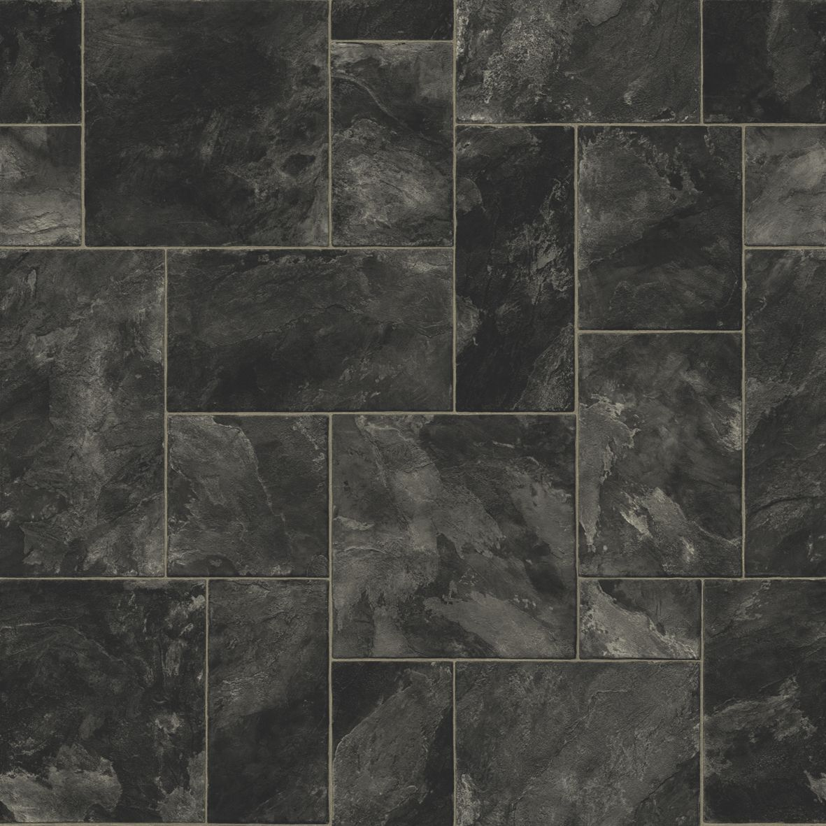 Bq Kitchen Tiles Octavina Black Vinyl 6ma2 Vinyls Vinyl Sheets And Slate