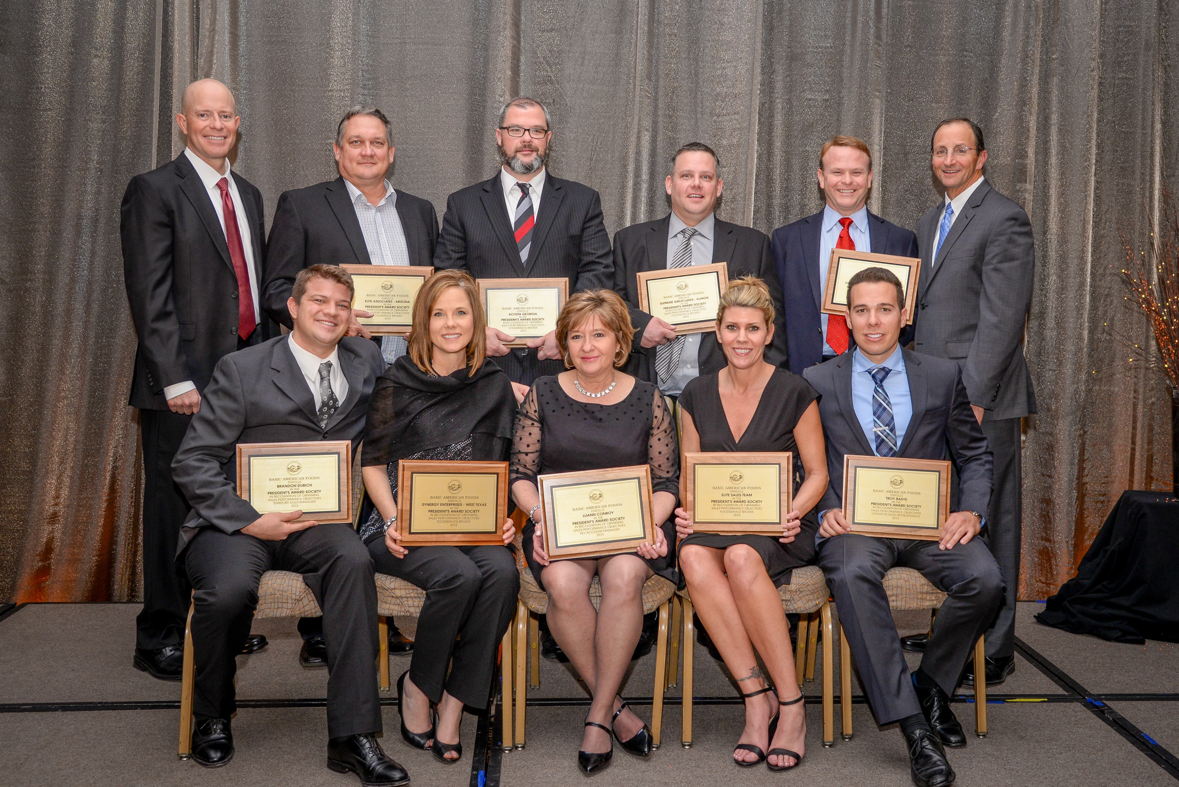 Award society recognizes individuals or brokers that