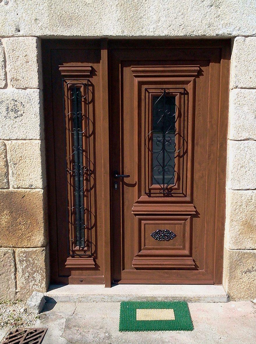 Puertas Rusticas Exterior Aluminio Precios Simple Rstica