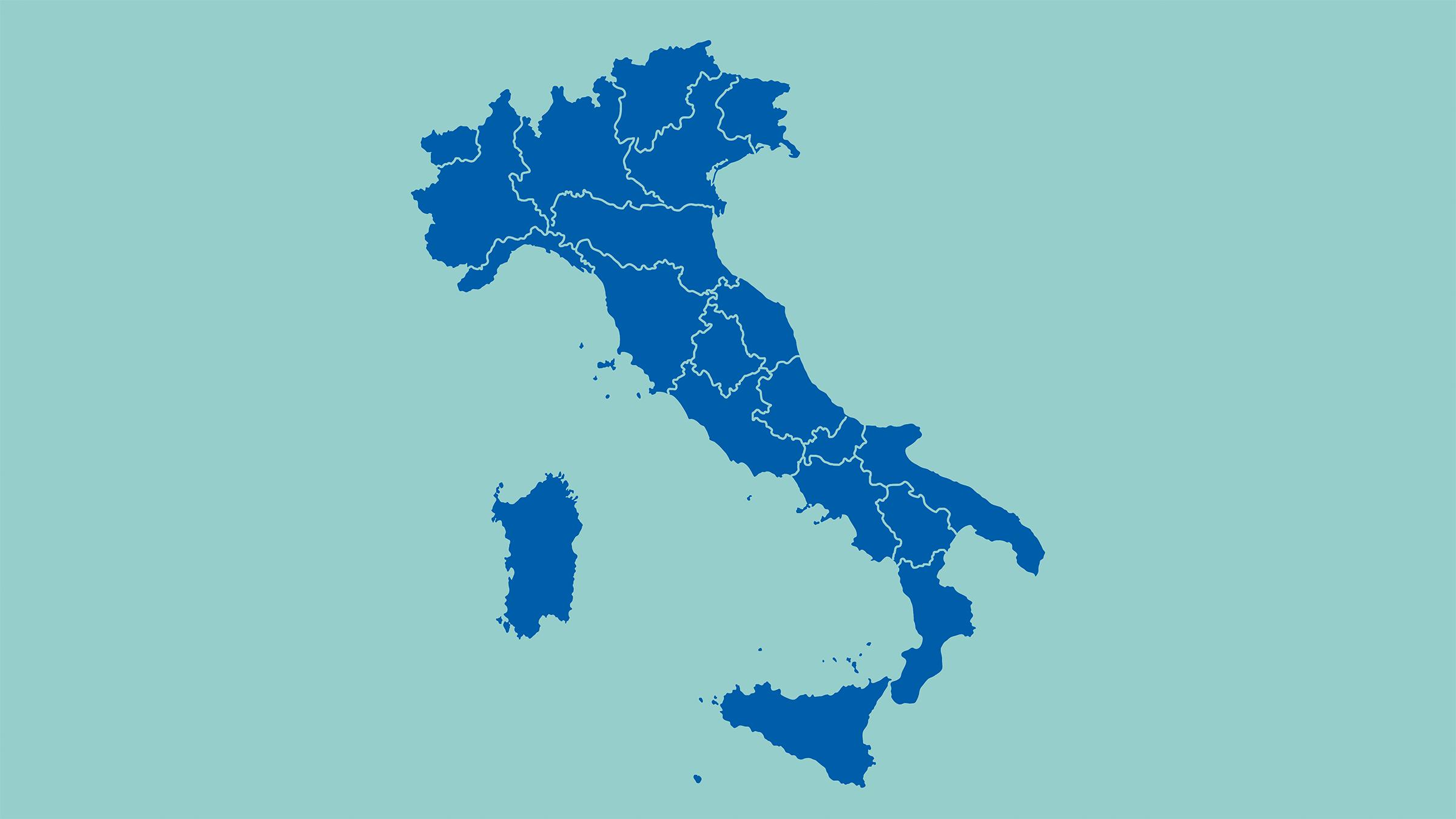 Mapa De Italia Mudo.Mala Politico Mudo De Italia Mapas Del Mundo Mapas Del