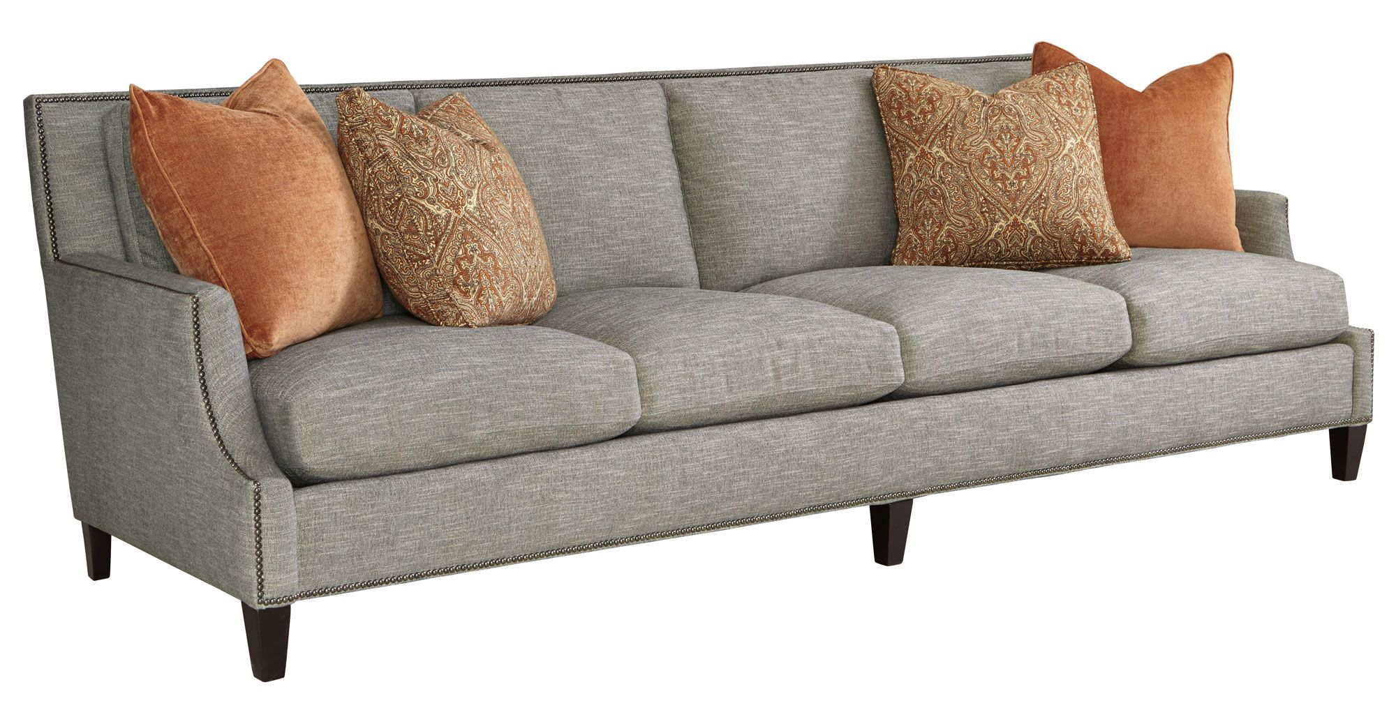 "10 Crawford Sofa 108 5"" Custom fabric and nailhead options TBD"