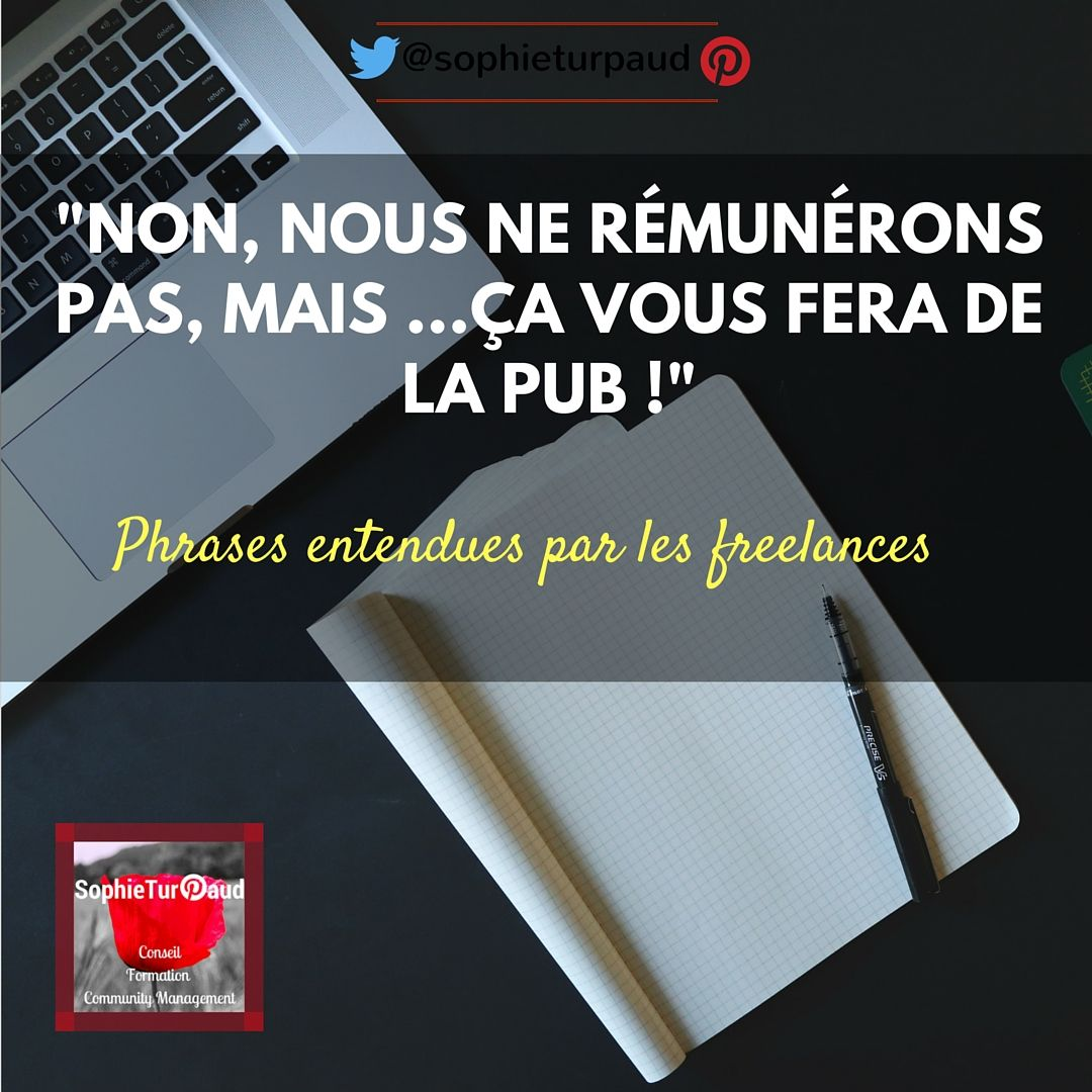 #citation ...vis ma vie de CM ou rédacteur Web  freelance 😉