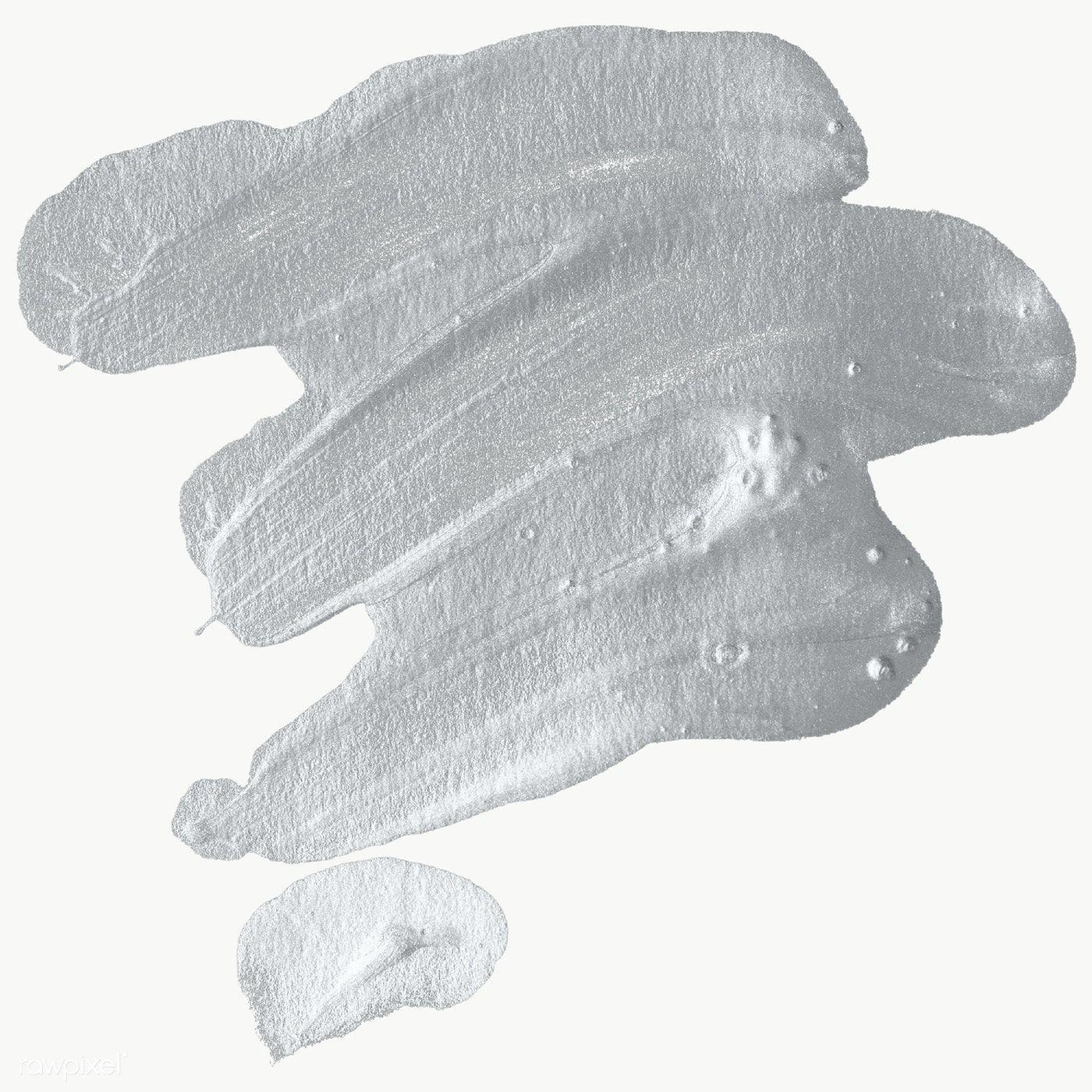 Metallic Gray Brush Stroke Transparent Png Free Image By Rawpixel Com Nap Brush Strokes Brush Stroke Png Texture Painting