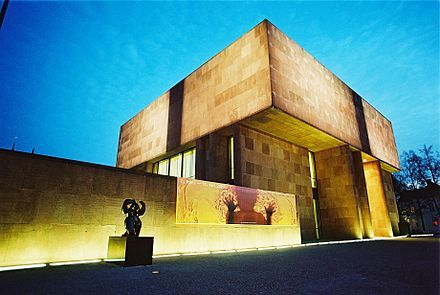 Kunsthalle Bielefeld Wikipedia The Free Encyclopedia Bielefeld Philip Johnson Museum