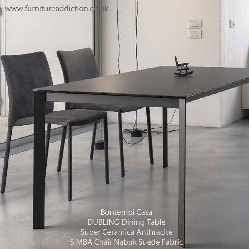 Bontempi Casa DUBLINO Extending Dining Table 160cm To 240cm   SAVE 15%
