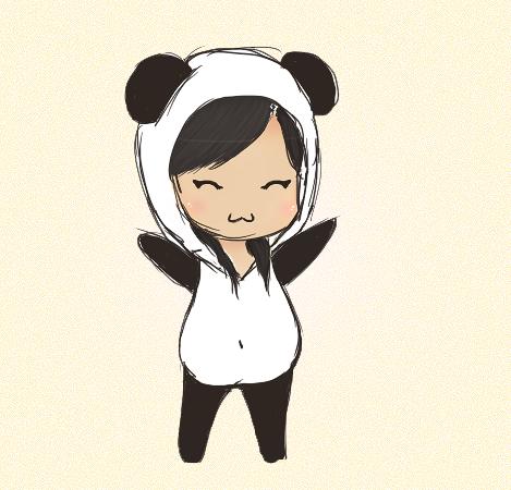 Chibi Panda By Nnjapanda On Deviantart Chibi Panda Panda Art Panda Painting