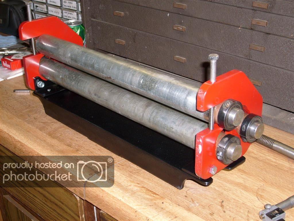 Small Slip Roller By Robg 010 In 2020 Metal Working Tools Metal Fabrication Tools Sheet Metal Roller