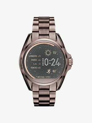 MK Access smart watch in Sable