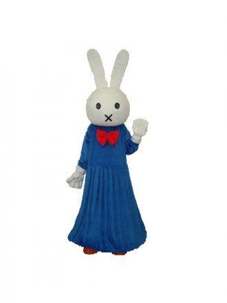 Smart Rabbit Plush Adult Mascot Costume