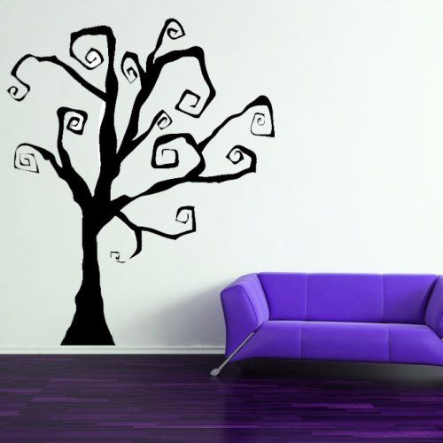 Halloween Spooky Tree Scary Decal Vinyl Sticker Wall Home - Vinyl wall decals home party