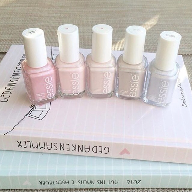 Pretty pastel essie polishes are absolute perfection. | pretty in ...