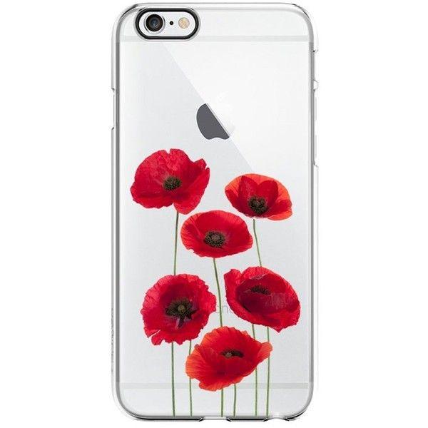 Secret poppy flower transparent silicone plastic phone case for secret poppy flower transparent silicone plastic phone case for iphone 399 mightylinksfo
