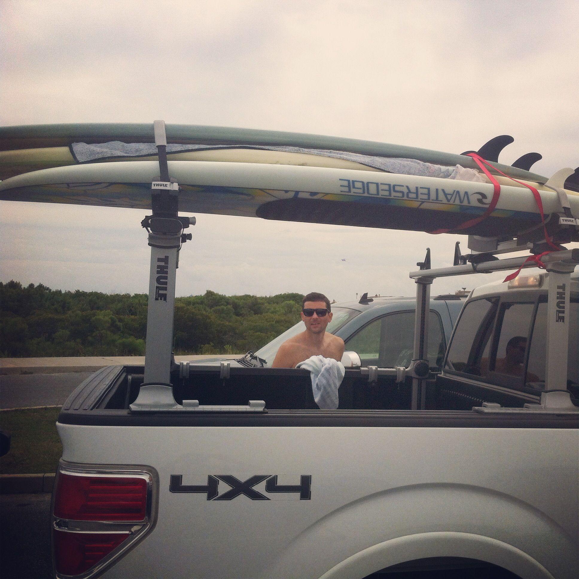 Surf Sup And Kayak Rack Thule Xsporter Pro Surfing Kayak