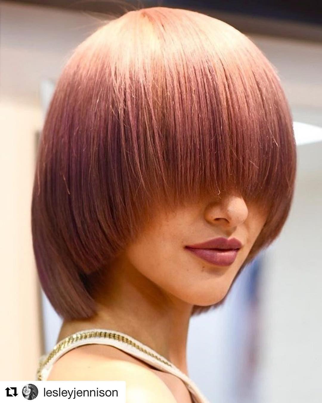 So Hot Long Hair Girl Pageboy Haircut Mushroom Hair
