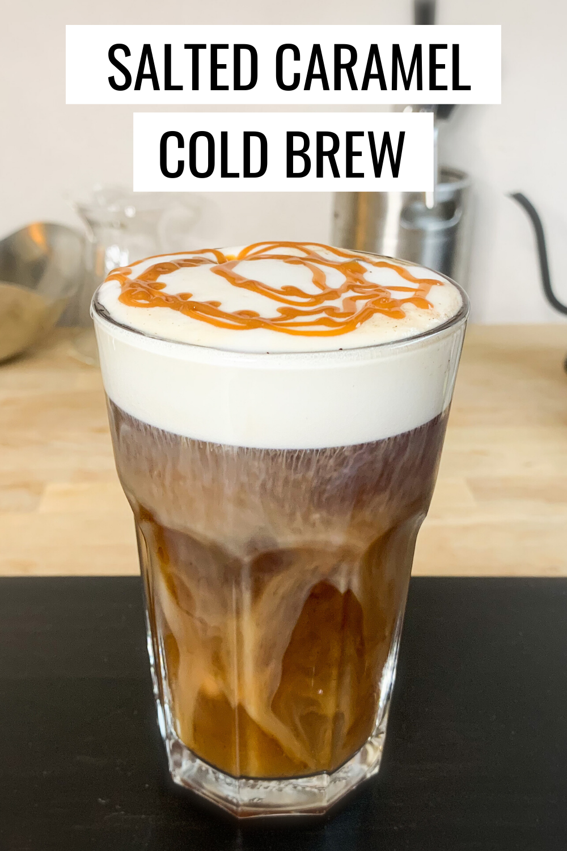 Salted Caramel Cold Foam Cold Brew Recipe