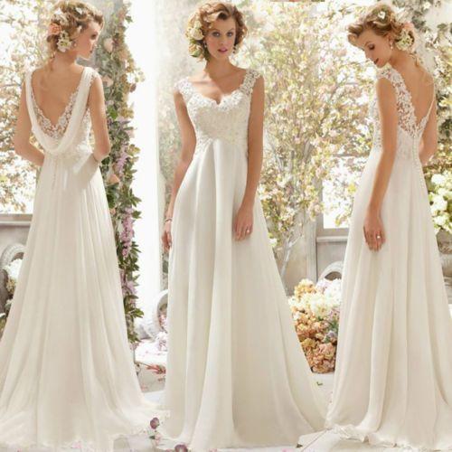 a8cf423f2c5 Hochzeitskleid-Brautkleid-Kleid-Braut-Ballkleid-Abendkleid-weiss -creme-NEU-BC275