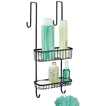 mDesign Duschablage zum Hängen über die Duschtür