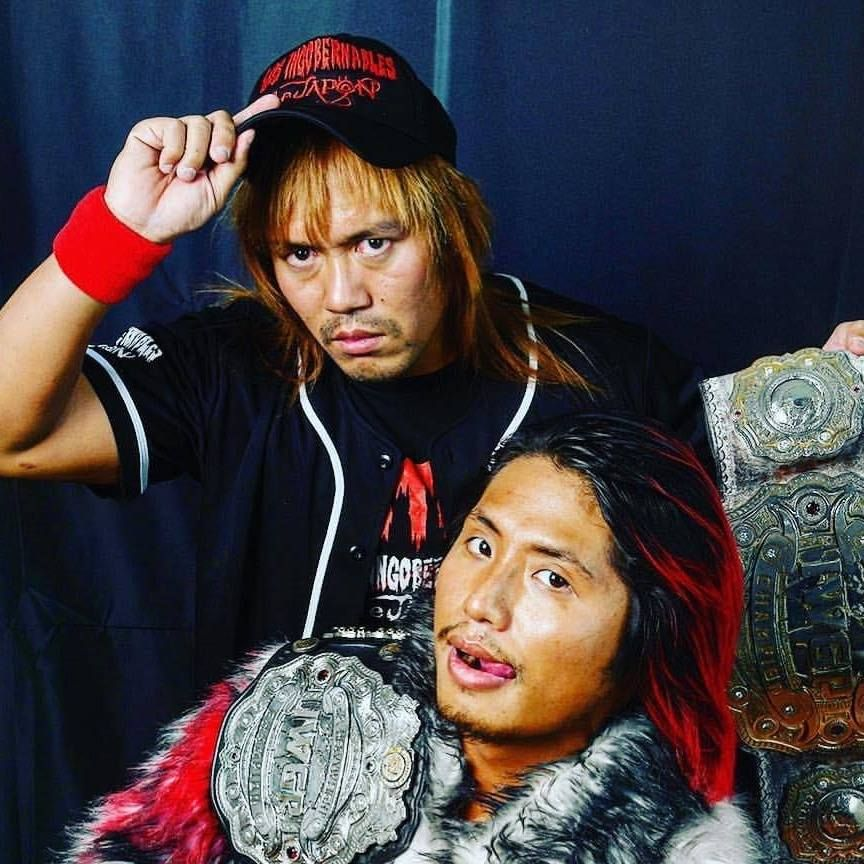 Tetsuya Naito and Hiromu Takahashi   Tetsuya Naito