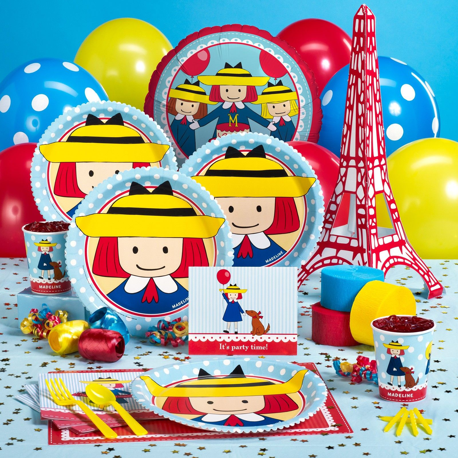 Madeline Birthday Party Pack