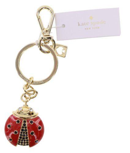 75ca888a7e980 Kate Spade New York Cute Ladybug Key Ring Key Fob Purse Charm (Multi ...