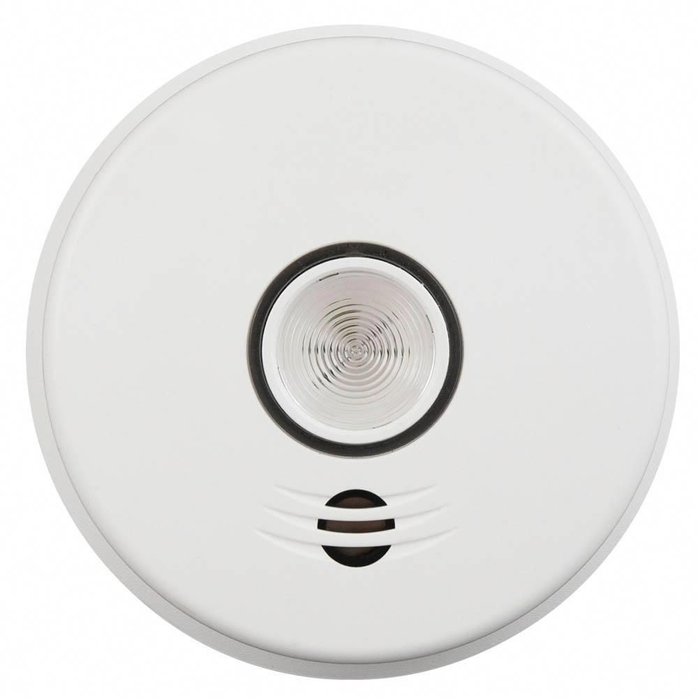 hight resolution of kidde 120 volt hardwired voice smoke alarm with emergency light intelligent wire free interconnect